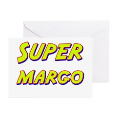 Super margo Greeting Cards (Pk of 10)
