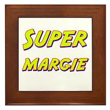 Super margie Framed Tile