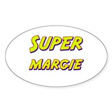 Super margie Oval Decal