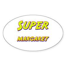 Super margaret Oval Decal