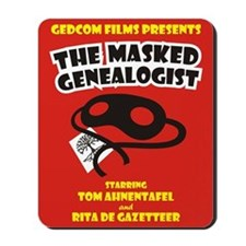 The Masked Genealogist Mousepad