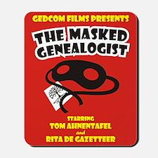 The Masked Genealogist Mousepad