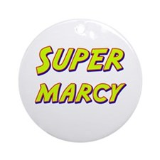 Super marcy Ornament (Round)