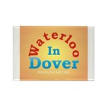 Waterloo In Dover Rectangle Magnet (100 pack)