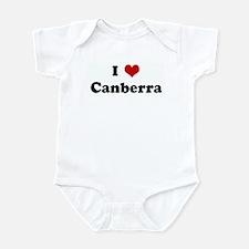 I Love Canberra Onesie