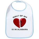 Heart In Alabama Bib