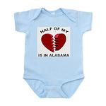 Heart In Alabama Infant Creeper