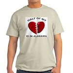 Heart In Alabama Ash Grey T-Shirt