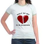 Heart In Alabama Jr. Ringer T-Shirt