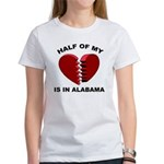 Heart In Alabama Women's T-Shirt