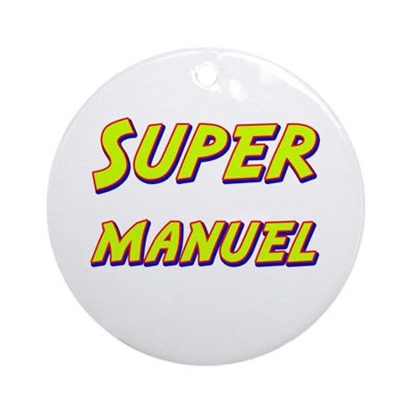 Super manuel Ornament (Round)
