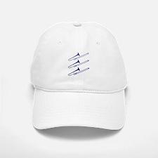 Blue Trombones Baseball Baseball Cap