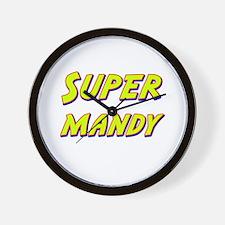 Super mandy Wall Clock