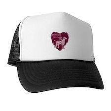 Pink Ribbon Dalmatian Trucker Hat