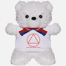 Soberfolk Pink Teddy Bear