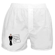 Bush Bathroom Break Boxer Shorts