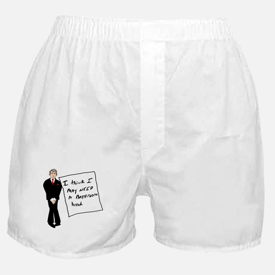 Bush Bathroom Break Boxer Shorts