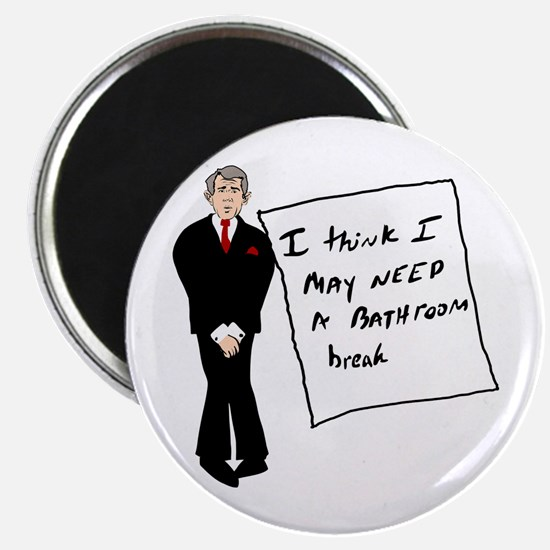 Bush Bathroom Break Magnet