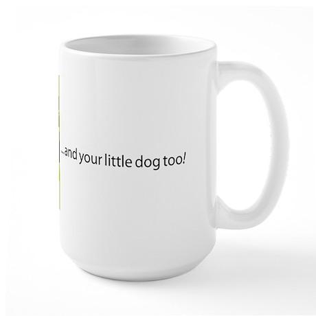 iCon (Lurid Lime) Large Mug