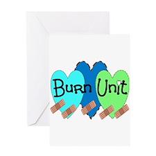 Burn Unit Nurse Greeting Card