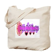 Burn Unit Nurse Tote Bag