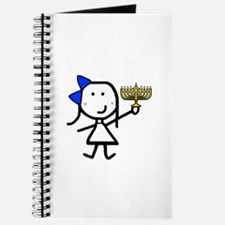 Girl & Hanukkah Journal