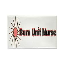 Burn Unit Nurse Rectangle Magnet