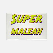 Super maleah Rectangle Magnet
