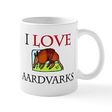I Love Aardvarks Mug