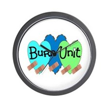 Burn Unit Nurse Wall Clock
