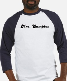 Mrs. Samples Baseball Jersey
