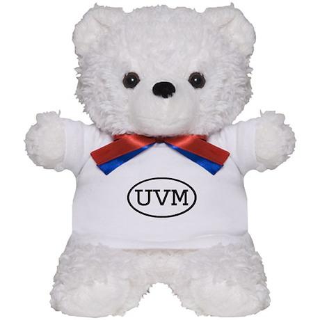 UVM Oval Teddy Bear