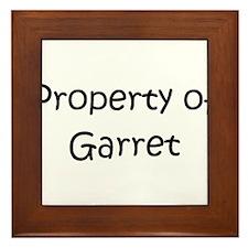 Unique Garret Framed Tile