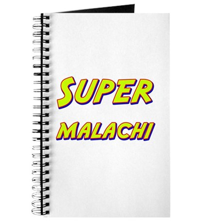 Super malachi Journal