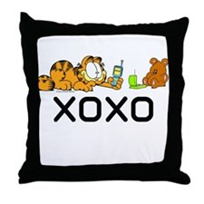XOXO Pooky Throw Pillow