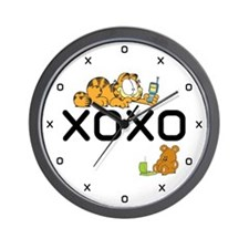 XOXO Pooky Wall Clock