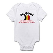 Good Lkg Belgian 2 Infant Bodysuit