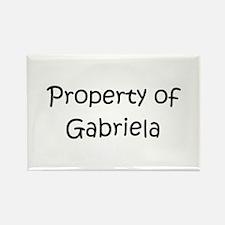 Unique Gabriela Rectangle Magnet