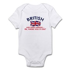 Good Lkg British 2 Infant Bodysuit