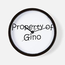 Gino celtics Wall Clock
