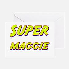 Super maggie Greeting Card