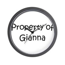 Gianna Wall Clock