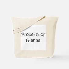 Funny Gianna Tote Bag