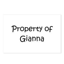 Cool Gianna Postcards (Package of 8)