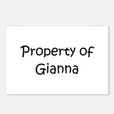 Funny Gianna Postcards (Package of 8)