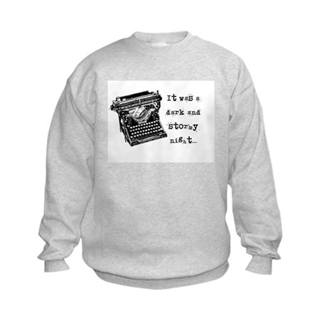 Stormy Night Kids Sweatshirt