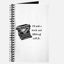 Stormy Night Journal
