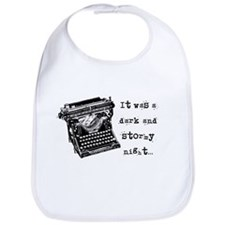 Stormy Night Bib