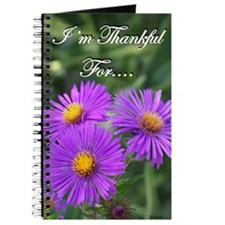 Purple Flower Gratitude Journal