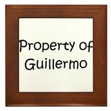 Unique Guillermo Framed Tile